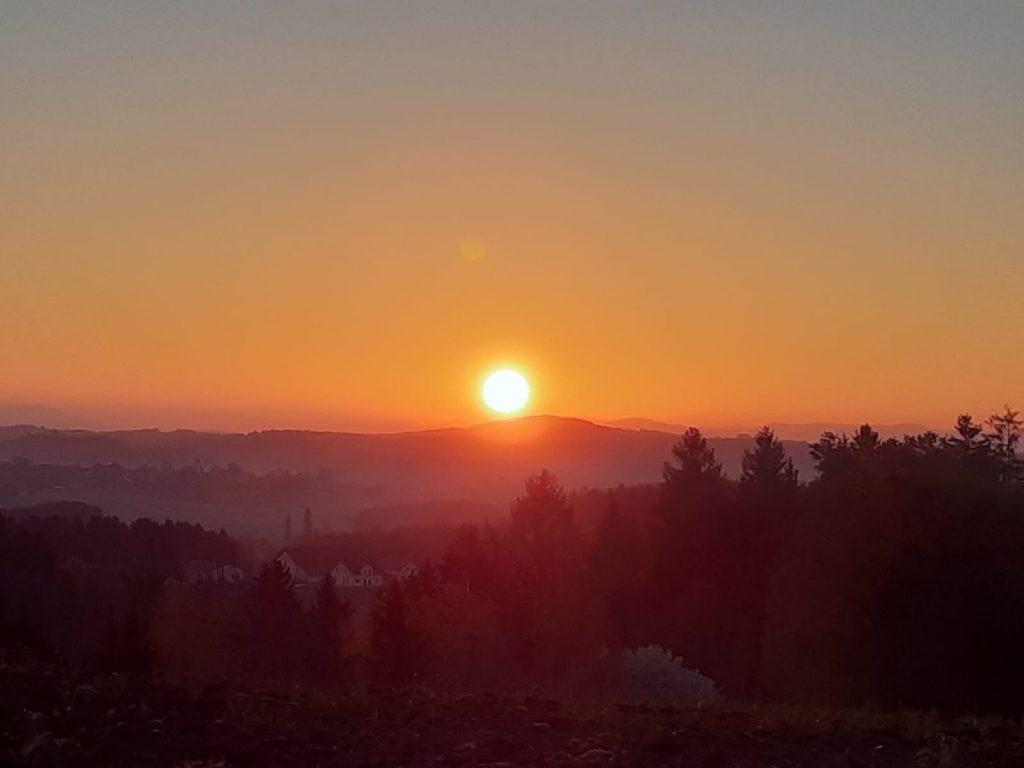 Sonnenaufgang in Kastell Windsor